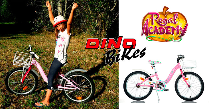 Dino Bikes at the Regal Academy Fairytale Party