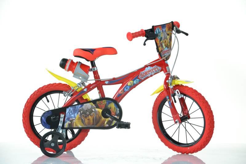 Choisis le nouveau vélo Dino Bikes Gormiti