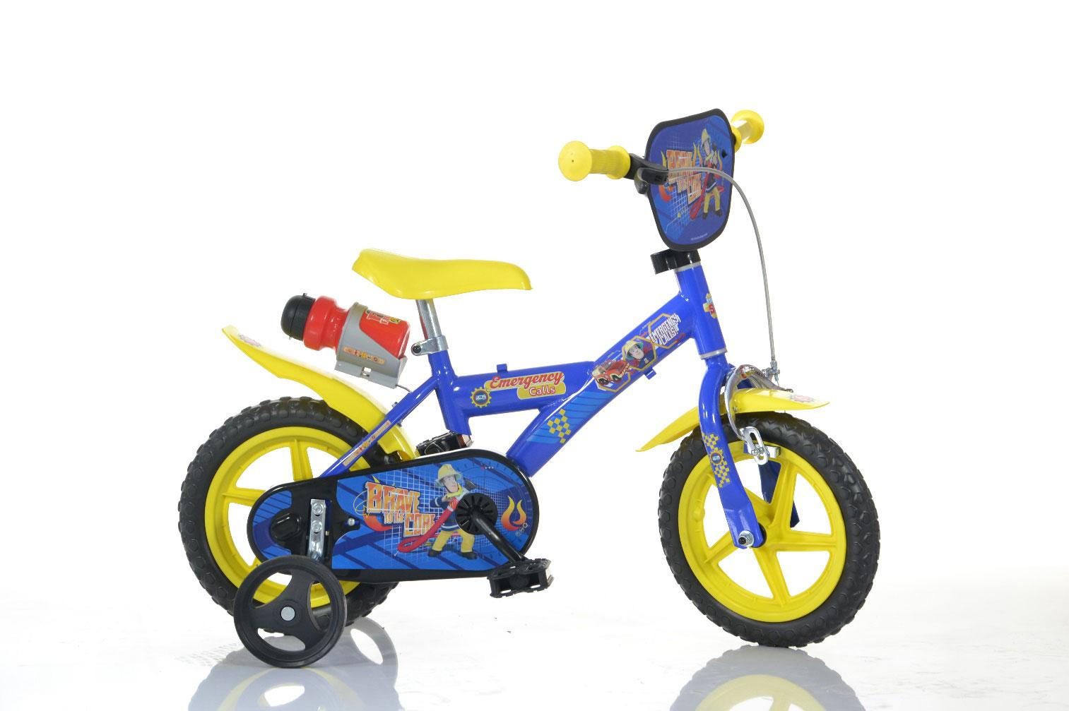 Choisis le nouveau vélo Dino Bikes Sam le Pompier