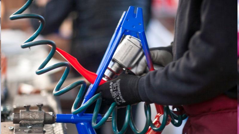 Catena di montaggio biciclette